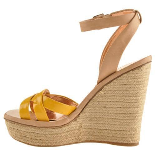Women's BCBGeneration Frankee Lemonglow/Mojave Luna Patent/Oracle Leather