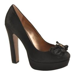 Women's BCBGeneration Jaclyn Black Shiny Twill Suede