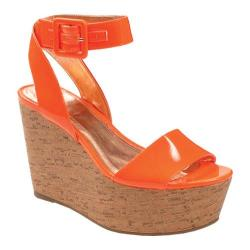Women's BCBGeneration Lee Neon Orange Patent