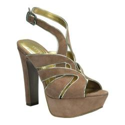 Women's BCBGeneration Palazzo Portabella/Flash Kidskin Suede/Mirror Metallic
