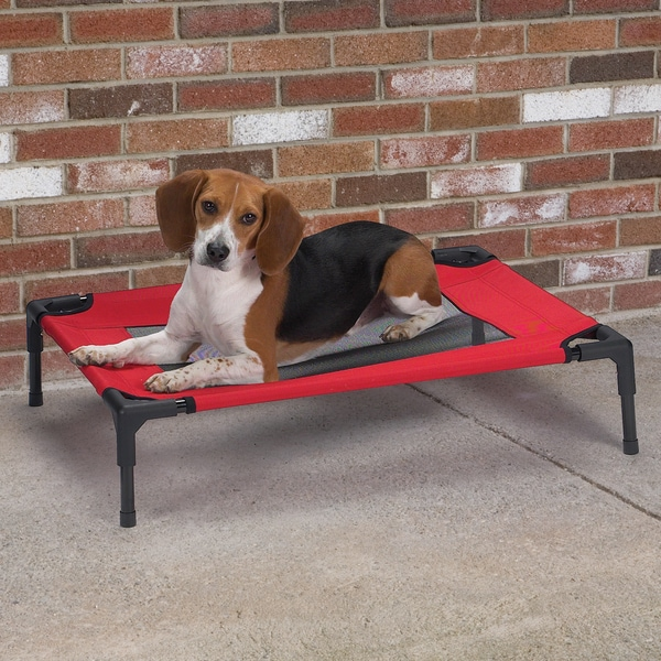 Guardian Gear Crimson Pet Cot with Mesh Panel
