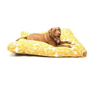 Majestic Pet Yellow Plantation Rectangle Pet Bed
