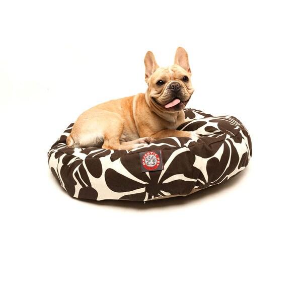 Majestic Pet Chocolate Plantation Round Pet Bed