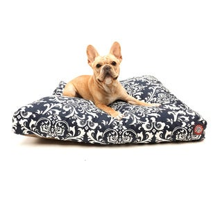 Majestic Pet Navy Blue Rectangle Pet Bed