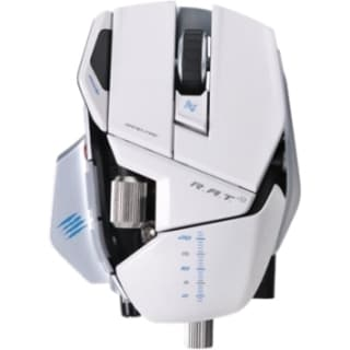 Mad Catz R.A.T. 9 Wireless Gaming Mouse for PC and Mac - White
