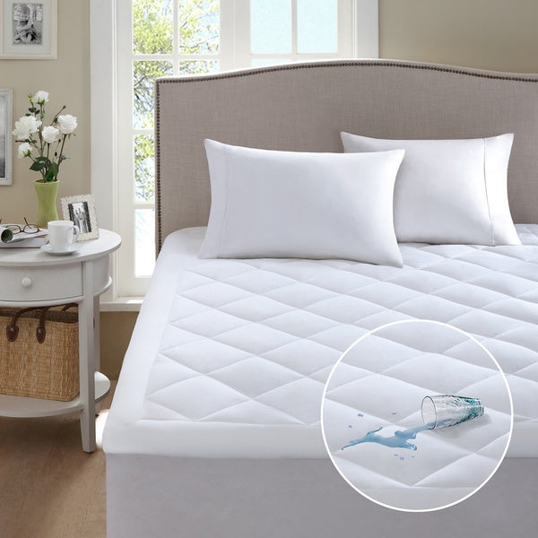 Sleep Philosophy Harmony Waterproof Mattress Pad with 3M Scotchgard Treatment