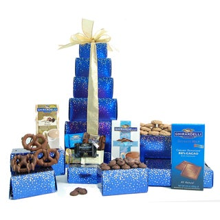 Nikki's Gift Baskets Grand Ghirardelli Gift Tower