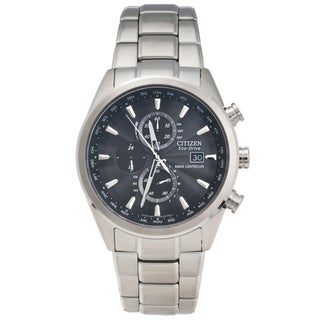 Citizen Men's Stainless Steel 'World Chronograph A-T' Watch