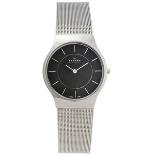 Skagen Men's Stainless Steel Slim Profile Watch