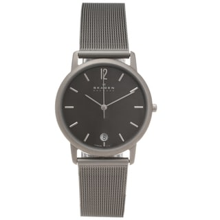 Skagen Men's Titanium Slim Profile Watch