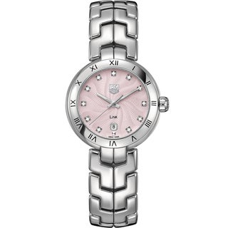 Tag Heuer Women's WAT1415.BA0954 Stainless Steel Diamond Watch