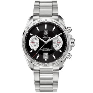 Tag Heuer Men's Steel 'Grand Carrera' Automatic Watch