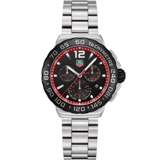 Tag Heuer Men's CAU1116.BA0858 Stainless Steel 'Formula 1' Chronograph Watch