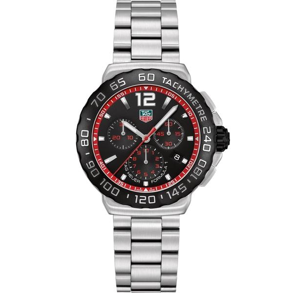 Tag Heuer Men's CAU1116.BA0858 Stainless Steel 'Formula 1' Chronograph Watch
