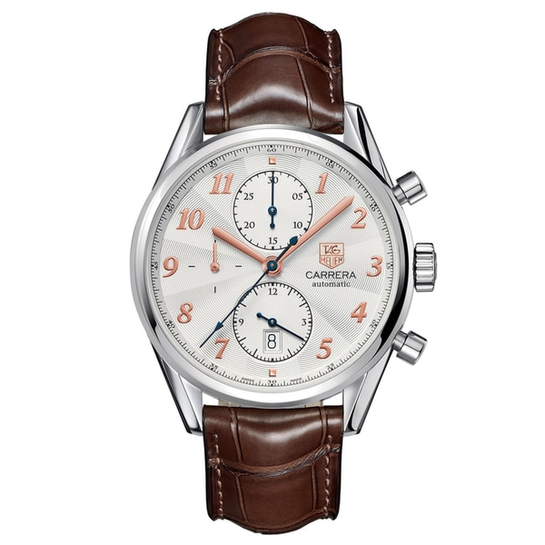 Tag Heuer Men's Stainless Steel 'Carrera' Automatic Watch