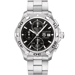 Tag Heuer Men's Stainless Steel 'Aquaracer' Automatic Chronograph Watch