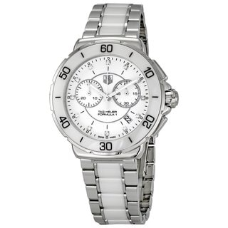 Tag Heuer Women's Steel and Ceramic 'Formula 1' Watch