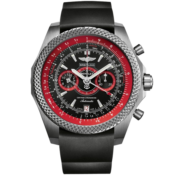 Breitling Men's Titanium 'for Bentley' Limited Edition Automatic Chronograph Watch