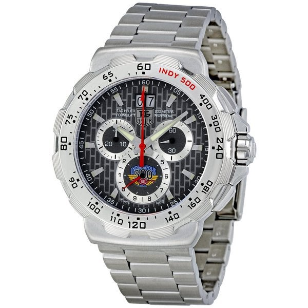 Tag Heuer Men's Steel 'Formula 1 Indy 500' Chronograph Watch