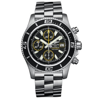 Breitling Men's Steel 'Superocean' Automatic Chronograph Watch
