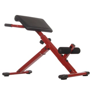 Red Statmina X Hyper Bench Exercise Machine