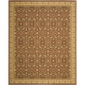 Safavieh Treasure Red/ Caramel Rug