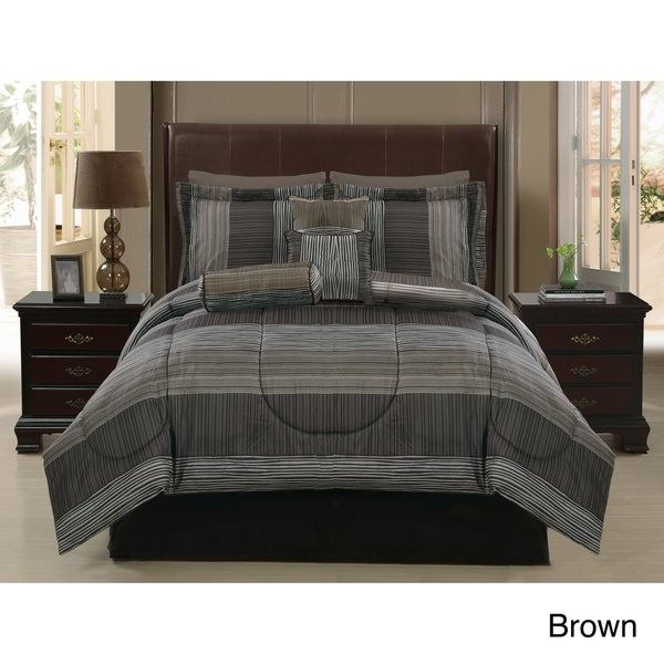 VCNY Safari 7-piece Reversible Comforter Set