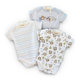 Infant 'Little Lion' Organic Cotton Bodysuits (Set of 3)