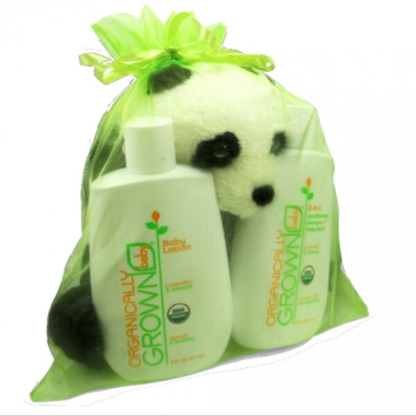 'The Triplet' 3-piece Organic Gift Set