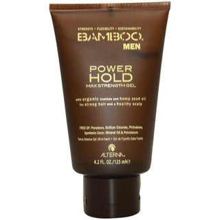 Alterna Bamboo Men's Power Hold Max 4.2-ounce Strength Gel