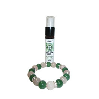 Heart Chakra Spray and Crystal Set