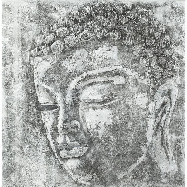 Safavieh Works of Art Serenity Buddha Canvas Art 10327138