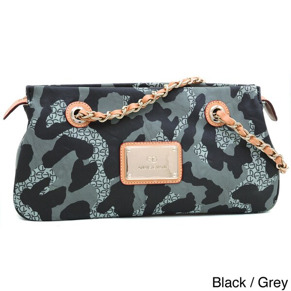 Anais Gvani Women's Camouflage Shoulder Bag