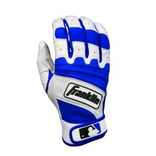 Adult Natural 2 Pearl/Royal Batting Glove