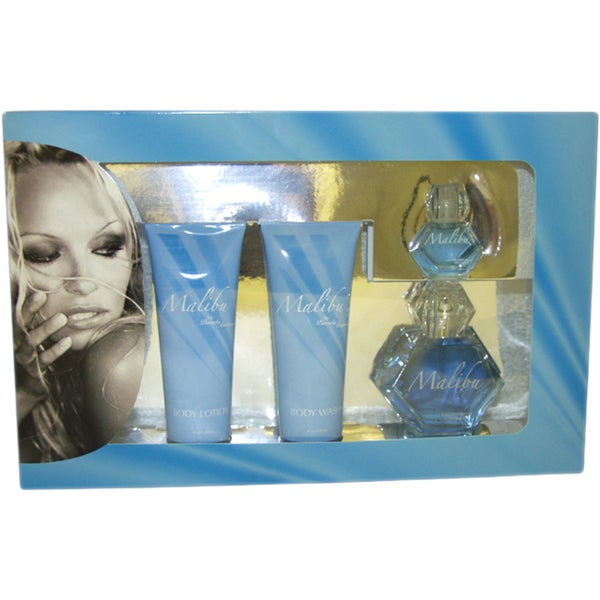 Pamela Anderson Malibu Women's 4-piece Gift Set