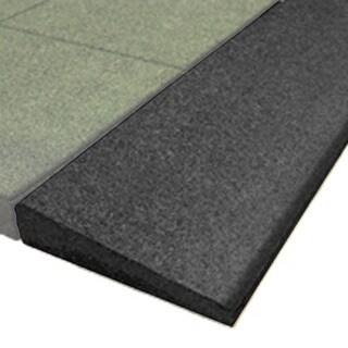 Bevel Edge Black 1.75-inch Borders (Set of 4)