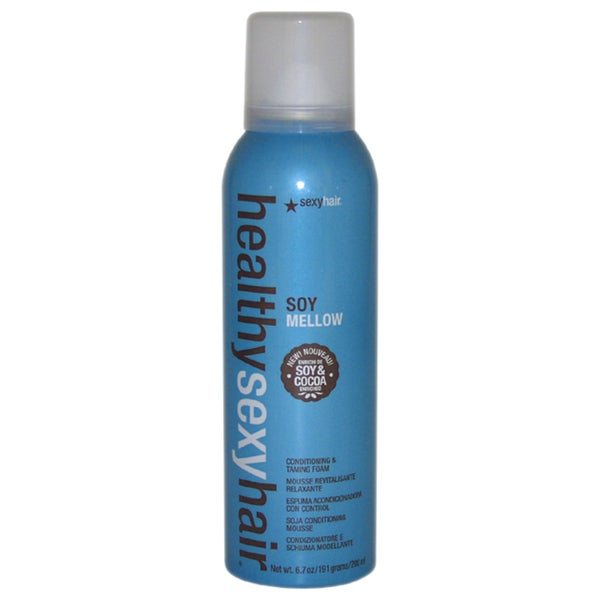 Sexy Hair Healthy Sexy Hair Soy Mellow Conditioning & Taming Foam 6.7-ounce Mousse