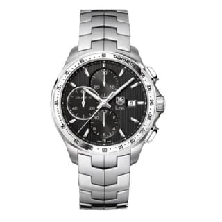 Tag Heuer Men's Steel Automatic Chronograph Watch