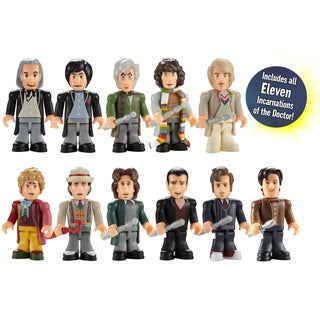 Doctor Who Eleven Doctor Set