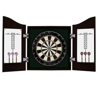 Hathaway Centerpoint Solid Wood Dart Cabinet Set