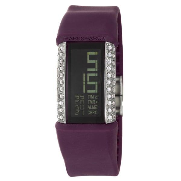 Philippe Starck Women's Steel Glitz Digital Chronograph Watch