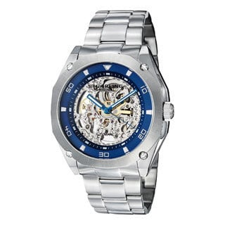 Stuhrling Original Men's Gallant Automatic Skeleton Bracelet Watch