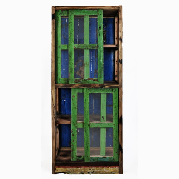 Ecologica Ecofriendly Reclaimed Wood China Cabinet