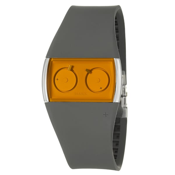 Philippe Starck Women's Water-Resistant Stainless-Steel Dual Time-Zone 'Palindrome' Watch