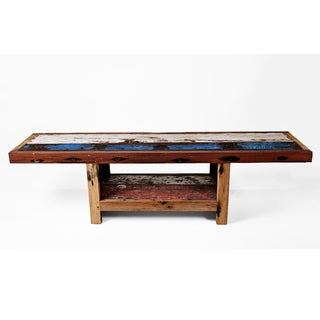 Ecologica Reclaimed Wood Natural Media Console
