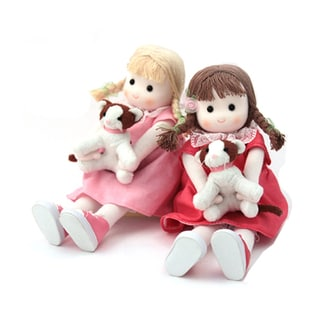 Twin Sweethearts Collectible Musical Doll Set