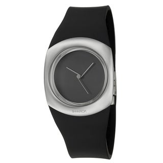 Philippe Starck Women's Black Stainless-Steel 'Minimalist' Watch