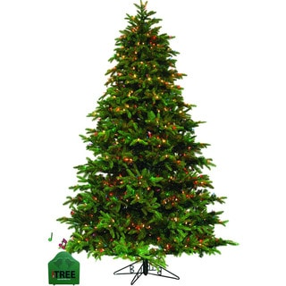 Pre-lit Clear/Multi MUSICAL 7.5-foot Christmas iTree