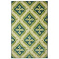Mohawk Home Becker Turquoise Area Rug