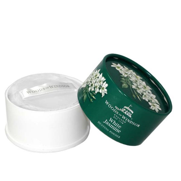 Woods of Windsor 'White Jasmine' Women's Body Dusting Powder with Puff
